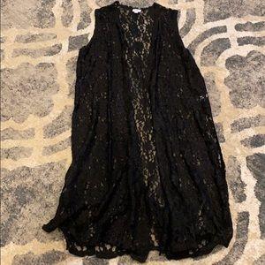 🖤 Black lace vest 🖤
